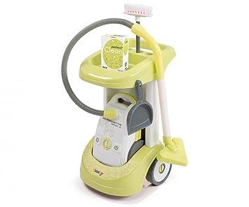 Smoby 024613 - Rowenta carrito de limpieza Clean Aspi [importado de Alemania]: Amazon.es: Juguetes y juegos