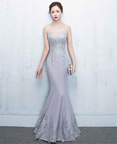 Drasawee Fasciante Vestito Drasawee Gray Donna Vestito Vestito Fasciante Gray Donna Drasawee Y1nqA