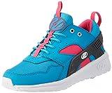 Heelys Girl's Force (Little Kid/Big Kid/Adult) Aqua/Grey/Pink Athletic Shoe