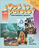 Instructor's Edition to Accompany Que Te Parece? : Intermediate Spanish, Lee, James F. and Chandler, Paul Michael, 0072850485