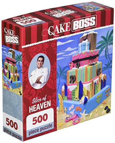 Masterpieces Slice of Heaven Cake Boss Jigsaw Puzzle (500-Piece)