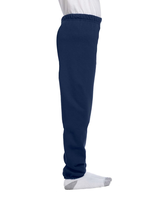 Jerzees Youth Fleece Sweatpant, J Navy, Large