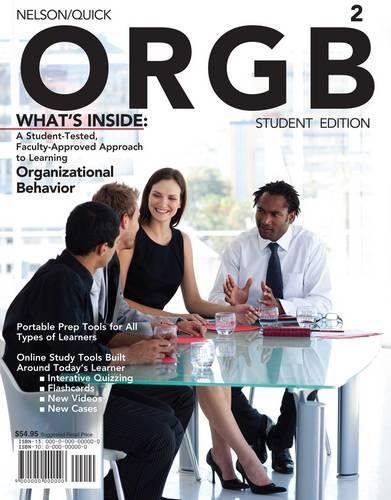 ORGB 2 (with Review Cards and Management CourseMate with eBook Printed Access Card) (Available Titles CourseMate)