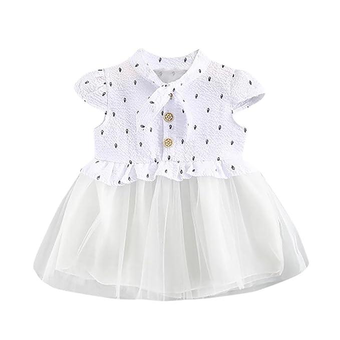 Btruely Herren Vestido Bebe Niña, Venta Caliente 2018 Ropa Bebe Niña Vestido Bebe Chica Florales Vestidos de Fiesta Princesa Para 0-24 meses: Amazon.es: ...