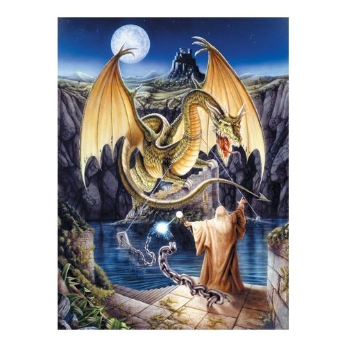 Serendipity 1000 Piece Puzzle - Release of the Dragon