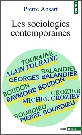 Téléchargement gratuit d'ebooks Les sociologies contemporaines DJVU
