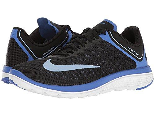 Nike Fs Lite Run 4 Svart / Aluminium / Medel Blå / Vit Kvinnor Skor