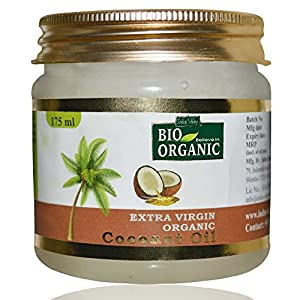 Indus Valley Bio Organic Extra Virgin Organic Coconut Oil With The Natural Aroma Of Coconut Oil For Hair & Skin Care…