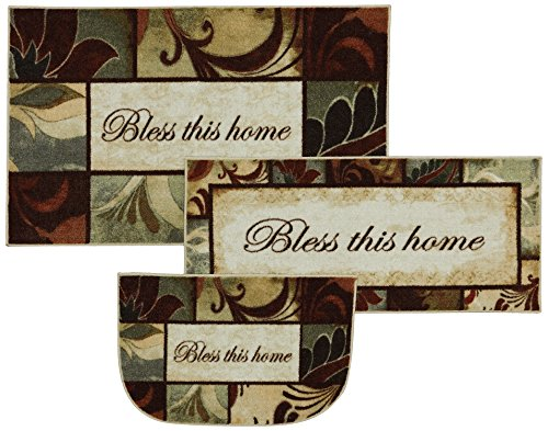 Mohawk Home New Wave Rules to Live by Kaleidoscope Printed Rug, Set, Multi