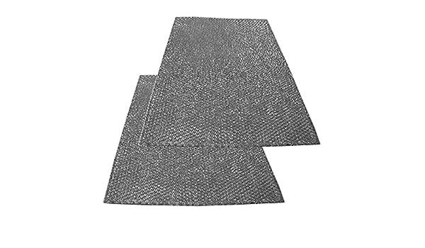 Spares2go grande aluminio malla filtro para Zanussi Campana ...