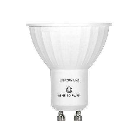 GU10 6W 220V 120º UNIFORM-LINE LED de Beneito Faure - Blanco muy cálido,
