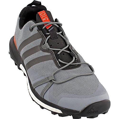 Adidas Outdoor Heren Terrex Agravic Shoe (11,5 - Vista Grijs / Zwart / Energie)