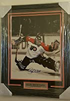 Ron Hextall Autographed Signed Flyers Custom Framed Photo Display JSA Coa