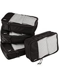 Small Packing Cubes - 4 Piece Set, Black