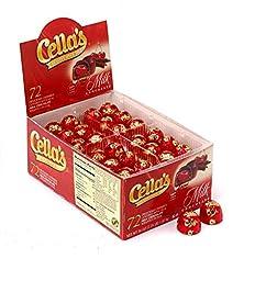 Cella\'s Milk Chocolate Covered Cherries, 72ct