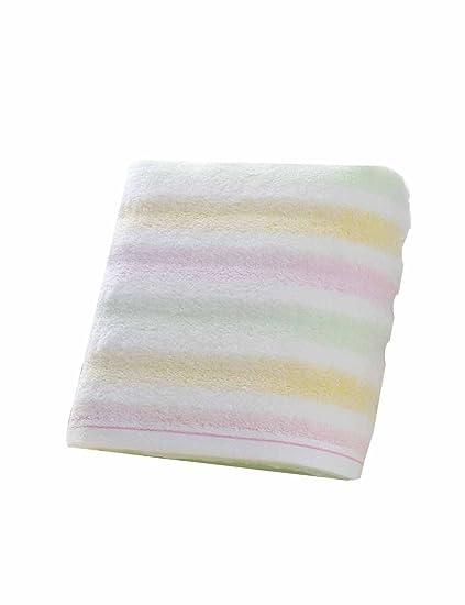TOWEL Toallas Suaves Grandes absorbentes de la Toalla de algodón Simples (2 Colores Opcionales)