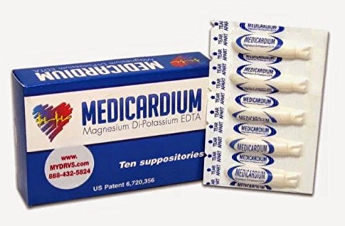 (Medicardium: Heavy Metal and Calcification Detox, 10 suppositories by RemedyLink)