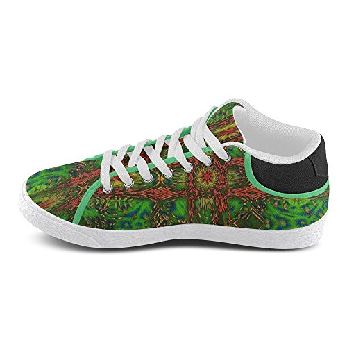 Canvas Native Shoes For Chukka Abstract Model003 Artsdd Artsadd Womens Custom Flag RgYBxAq