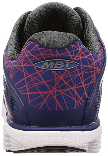 MBT 18 Chaussures Bleu Fitness Racer Blue 1208y de Teal Homme Orange M wqrwU