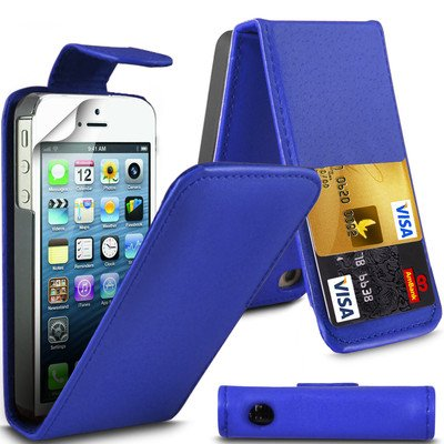 Best Style Apple iPhone 6plus by Dark Blue Flip Premium PU Leather Case Cover For Apple iPhone 6plus by G4GADGET®
