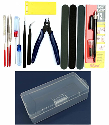 Gundam Modeler Basic Tools Craft Set For Car Model Assemble Building Kit by - Plastic Model Tools Kit