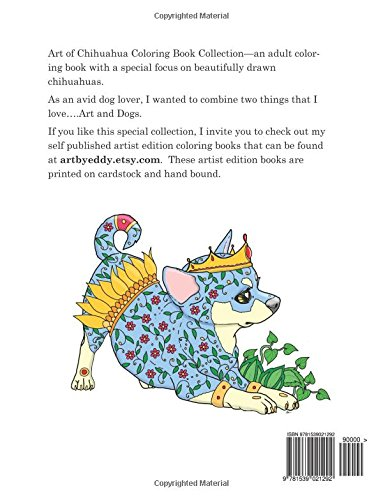 Amazon.com: Art of Chihuahua Coloring Book Collection: Coloring ...