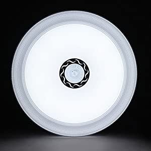 AFSEMOS Surface Mount Led Ceiling Light-24W Round LED Ceiling Light, 180W Incandescent Bulbs Equivalent 2000lm 16in LED Light Fixtures Ceiling, 6000K Cool White for Living Room, Hallway, Office