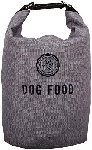 Harry Barker Grey Travel Dog Food Storage Bag