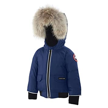 Canada Goose Baby Elijah Bomber Jacket Pacific Blue 3-6 M