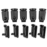 Amazingli Belt Clip for Motorola Talkabout 2 way Radios Walkie-talkie Black 10pcs