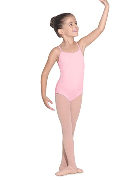 adc8b337ec54c Amazon.com : Bloch Dance Girls' Parem microlux Camisole Leotard ...