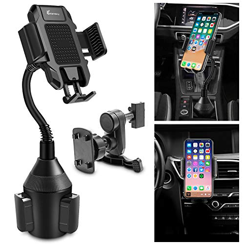 Car Phone Holder, Vansky 2-in-1 Cup Phone Holder and Air Vent Mount for iPhone Xs Max R X 8 Plus 7 Plus 6S Samsung Galaxy S10 S9 Edge S8 LG Sony Huawei and More (Galaxy Note 1 Vs Galaxy Note 2)