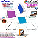 """mCover Hard Shell Case for 14"""" HP Pavilion X360"""