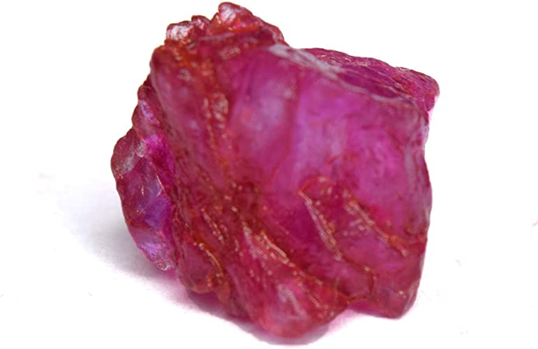 Amazon.com: Untreated Raw Rough Ruby 11.00 Ct. Certified Healing Crystal  Natural Red Ruby Gemstone: Jewelry