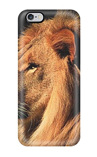 excellent-iphone-6-plus-case-tpu-cover-back-skin-protector-lion-animal