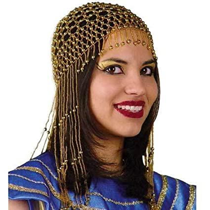 Fries Wig - Hair Accessories Egypt, Golden With Beads by Fries