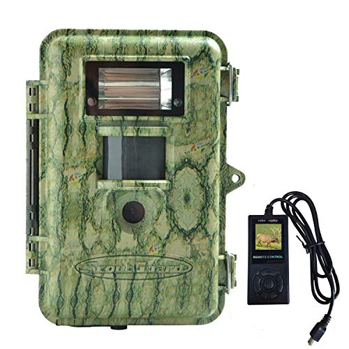 Xenon Flash Digital Scouting Camera Hunting Trail Camera,14MHD 100FT Detection Range with Color Picture Videos at Night Scouting Camera Wired Remote Control Game Camera