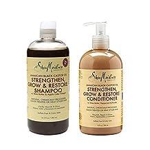 Shea Moisture - Jamaican Black Castor Oil Shampoo & Conditioner Set