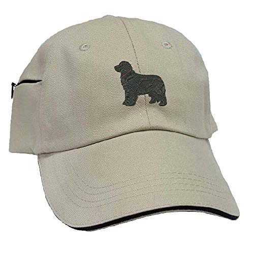 YourBreed Clothing Company Newfoundland Low Profile Baseball Cap with Zippered Pocket.
