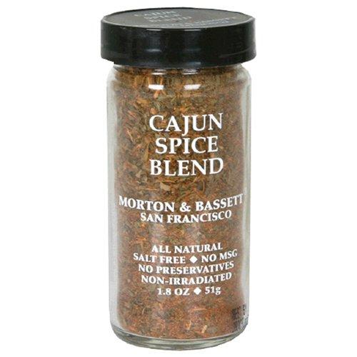 Morton & Bassett Cajun Seasoning, 1.7-Ounce Jars (Pack of 3)