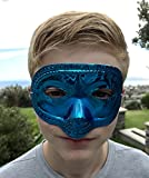 48 Bulk Disguise Half Mask Assortment - Perfect for Halloween, Masquerade Ball, or Mardi Gras