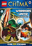 LEGO Legends of Chima: Warriors Unite! Sticker Activity Book by aa vv (2013) Paperback