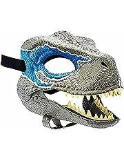 Tianle Halloween Halloween Masker Geschenken Carnaval Geschenken Raptor Masker Kind Blue Dinosaurus Accessoires
