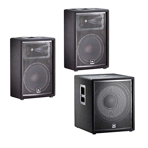 Click to buy JBL JRX212 12' Passive Speakers Pair with JBL JRX218S Subwoofer PA System Bundle - From only $949.97