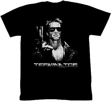 2Bhip Terminator - Camiseta para adulto de la película SciFi de 1980, modelo T-800 101: Amazon.es: Ropa y accesorios