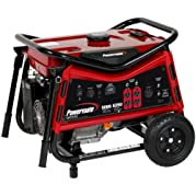 Powermate PM0105007, 5000 Running Watts/6250 Starting Watts, Gas Powered Portrable Generator