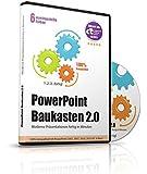 PowerPoint Baukasten 2.0 - Präsentationen fertig in Minuten -- Mit über 6000 PowerPoint Vorlagen für Business, Kommunikation, Marketing, Vertrieb, Verkauf, Sales, Manager, Sekretärinnen, Innendienst, Büromanagement, Management, Redner, Speaker, Personal, Teams, Vorträge, etc. - für Microsoft PowerPoint und Apple Keynote