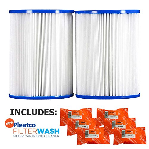 Pleatco Cartridge Filter PRB25SF-PAIR Dynamic Series Model DSF DFML-25C 817-5010 17-2464 R173433 w/ 3x Filter Washes