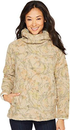 Burton Women's Lynx Pullover Fleece Tapestry Camo Medium -