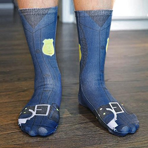 (Highpot Occupation Socks for Men & Women - Great for Running, Nursing, Medical, Athletic, Edema, Flight Travel, Pregnancy and Shin Splints (F))